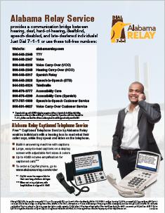Alabama Relay Directory Flyer