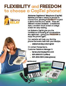 CapTel Family Flyer